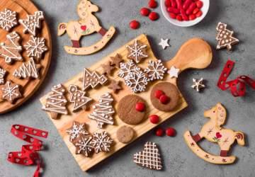 Receta de galletas de Navidad, ricas e ideales para hacer en familia