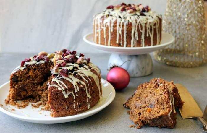 Receta de pan de pascua vegano para una Navidad de corazón verde