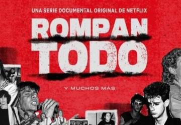 Ya puedes escuchar la playlist de la serie Rompan todo, con casi ocho horas de rock en español