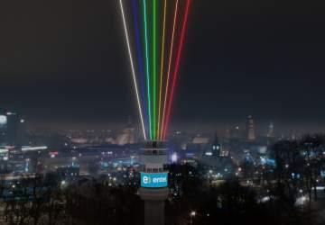 La Torre Entel recibirá el Año Nuevo 2021 con un show de luces multicolor