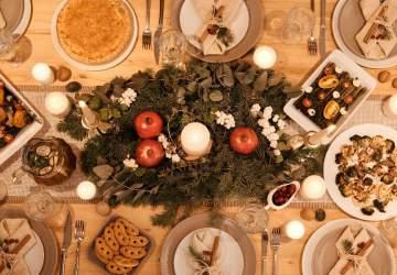Cenas navideñas a domicilio y para todos los gustos