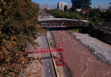 Instalación Un río de Sangre
