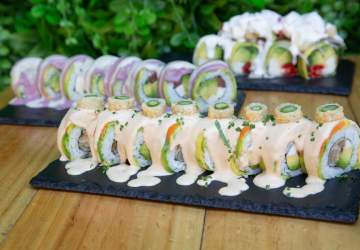 Kambo Sushi: la nueva delicia 100% vegana de barrio Italia