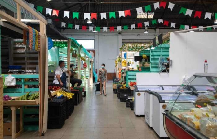 La Vega Italia, el nuevo y colorido mercado de abastos de Av. Manuel Montt