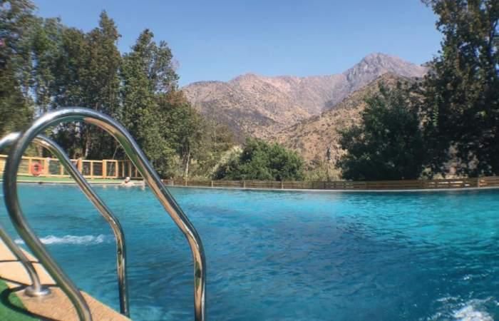 La Posada El Canelo: comida típica chilena y piscina en el Cajón del Maipo