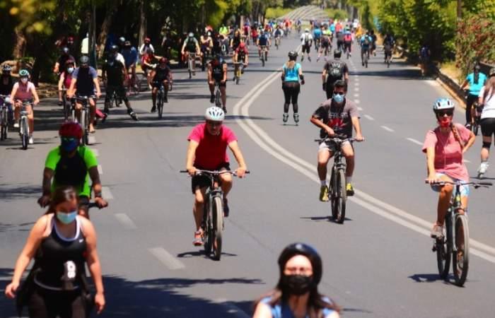 Vuelve la CicloRecreoVía de Andrés Bello para un divertido y ejercitado domingo
