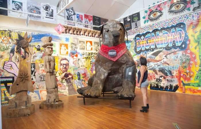 El Museo del Estallido Social expone el arte que surgió luego del 18 de octubre