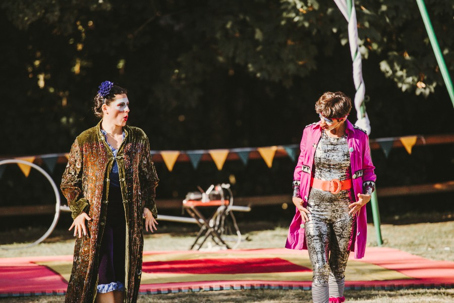 El valdiviano Parque Saval vuelve a abrir con espectáculos de teatro, danza, música y circo al aire libre