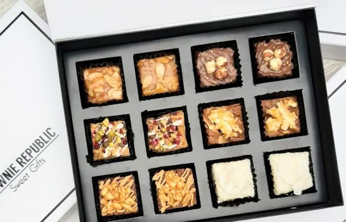 Brownie Republic: el delicioso delivery de brownies hechos bombón