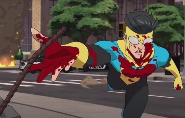 Invincible: la colorida y violenta serie sobre superhéroes de Amazon Prime