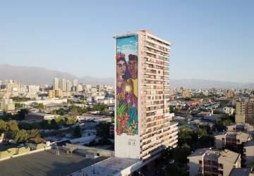 Mural Igualdad barrio Yungay
