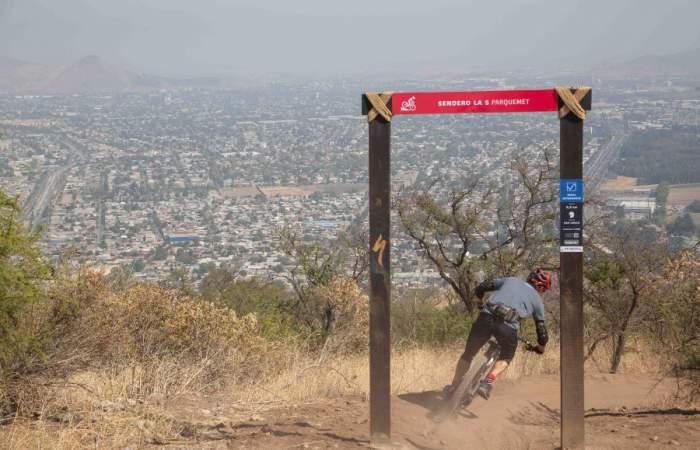 Adrenalina asegurada en los nuevos senderos de Mountain Bike del Parque Metropolitano