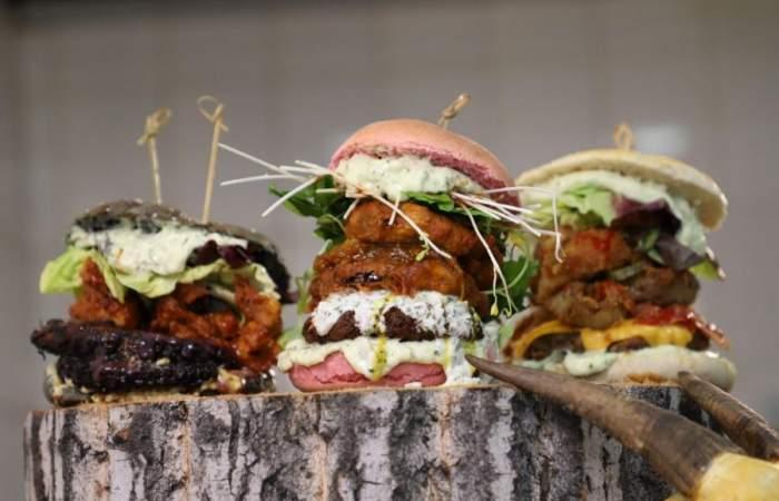 Chef Metalero: las hamburguesas veggie tamaño XL que son pura pasión y rock