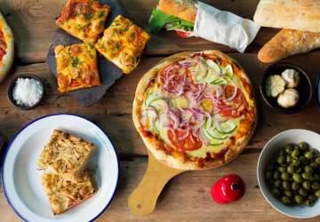 La Divina Providencia: deliciosa pizza de barrio y bien casera