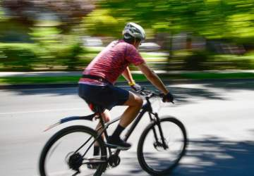 ciclovía en avenida Suecia