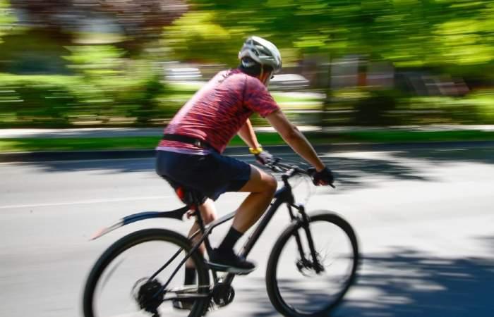 La nueva ciclovía de Av. Suecia que recorre tres km de Providencia