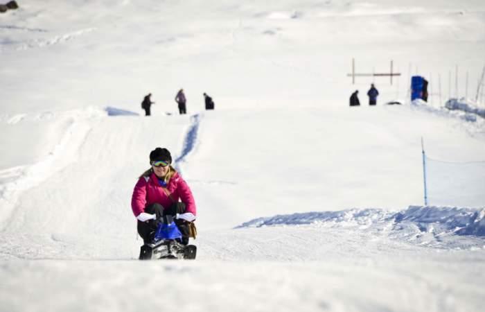 Parques de Farellones hará una preapertura de sus entretenidos juegos de montaña