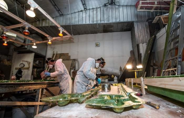 En el Día del Patrimonio el Teatro Municipal abrirá por primera vez al público sus talleres en el barrio Yungay