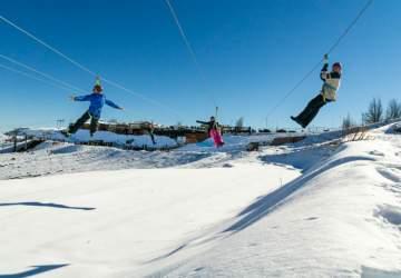 Parques de farellones abrirá de lunes a domingo en vacaciones de invierno