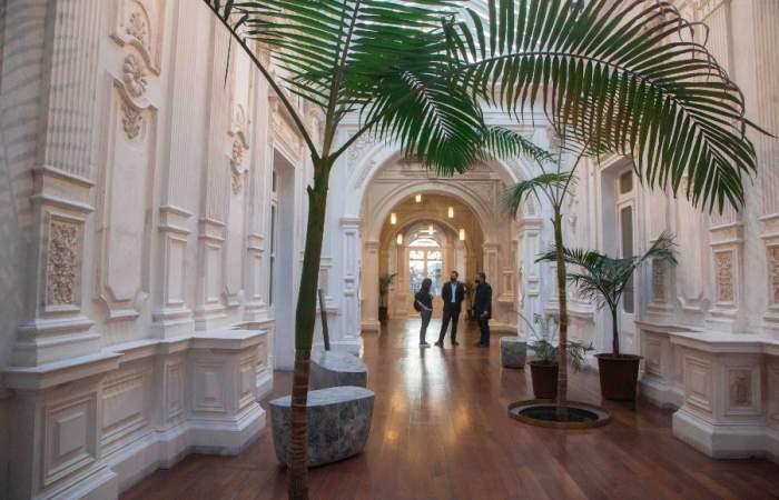 El recorrido virtual que te permitirá conocer el Palacio Pereira pese a la cuarentena