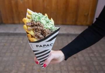 Papachecos: las adictivas papas fritas en cucurucho llegan al barrio Lastarria