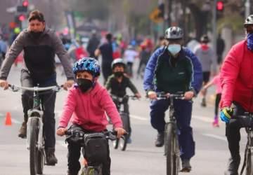 La CicloRecreoVía de Av. Andrés Bello ya está de vuelta con 6,5 kms de recorrido