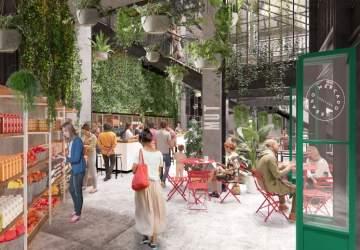 Así será MUT, el mercado urbano que llevará nuevos sabores a Tobalaba