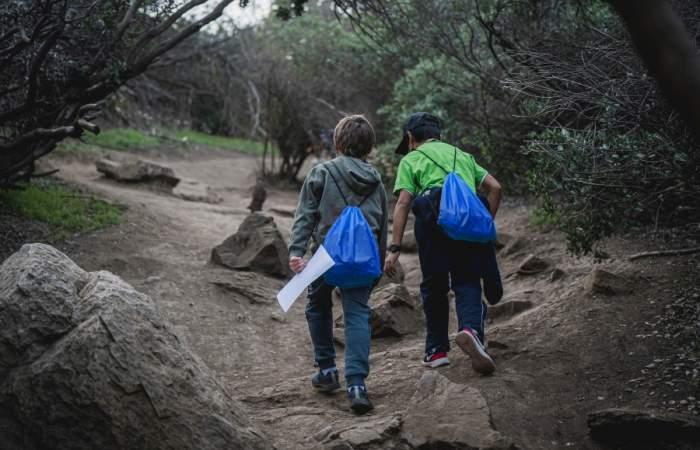 Sube al cerro Manquehuito con los niños y niñas en este tour guiado y gratuito