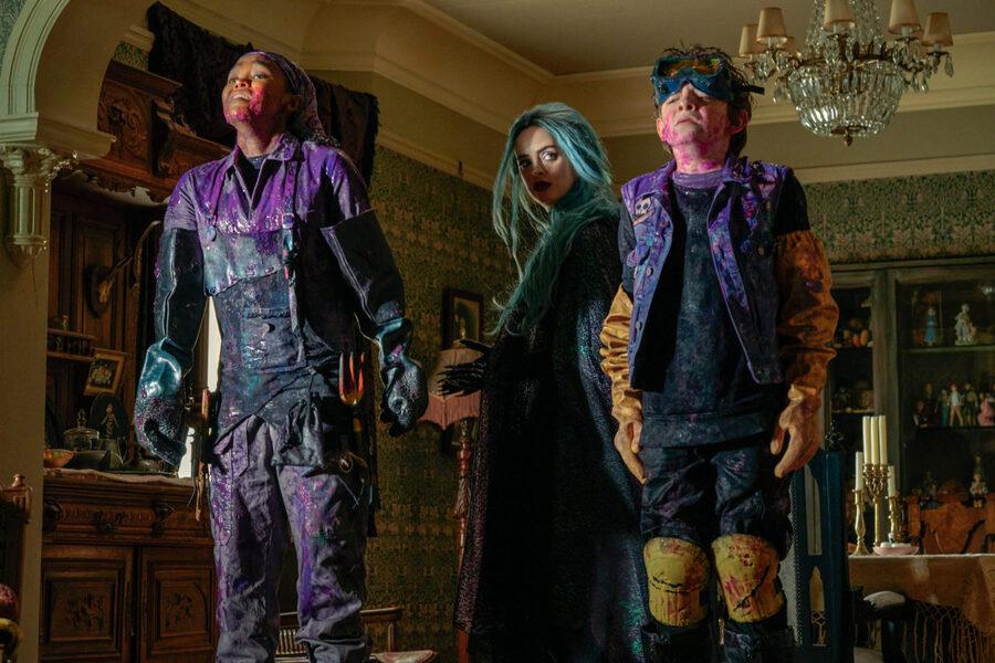 Cuentos al caer la noche: la película familiar de Netflix que lleva por un escalofriante y entretenido recorrido