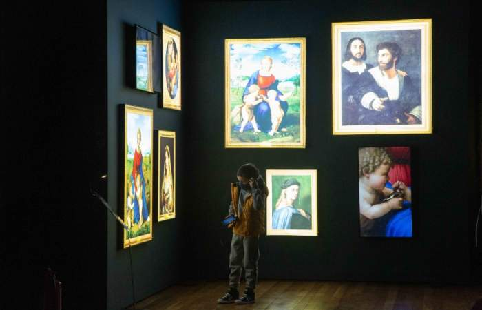 La nueva exposición inmersiva del Museo Artequin lleva de viaje al Renacimiento