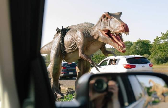 Dinosaurios de hasta más de 35 metros de largo invadirán Espacio Riesco