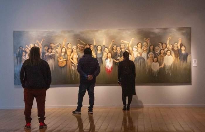 A dos años del estallido social, el Museo de la Memoria inaugura exposición con las miradas de 31 artistas